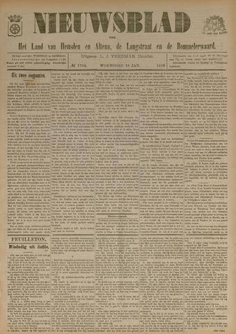 Nieuwsblad het land van Heusden en Altena de Langstraat en de Bommelerwaard 1899-01-18