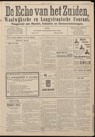 Echo van het Zuiden 1938-04-09