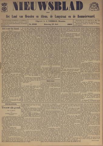 Nieuwsblad het land van Heusden en Altena de Langstraat en de Bommelerwaard 1908-07-11