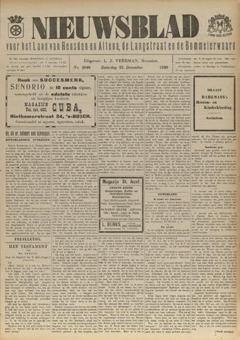 Nieuwsblad het land van Heusden en Altena de Langstraat en de Bommelerwaard 1920-12-25