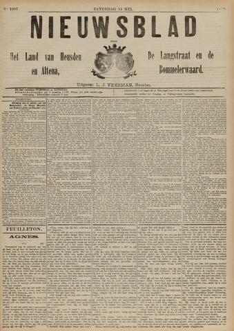 Nieuwsblad het land van Heusden en Altena de Langstraat en de Bommelerwaard 1892-05-14