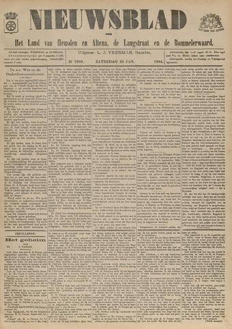 Nieuwsblad het land van Heusden en Altena de Langstraat en de Bommelerwaard 1904-01-30