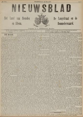 Nieuwsblad het land van Heusden en Altena de Langstraat en de Bommelerwaard 1890-03-12