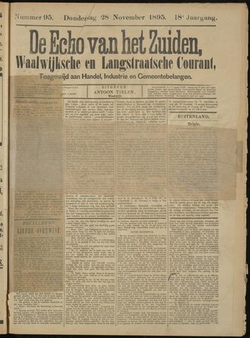 Echo van het Zuiden 1895-11-28