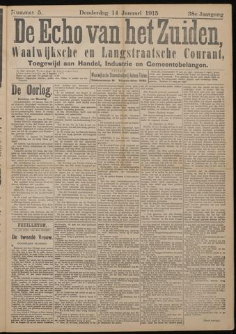 Echo van het Zuiden 1915-01-14