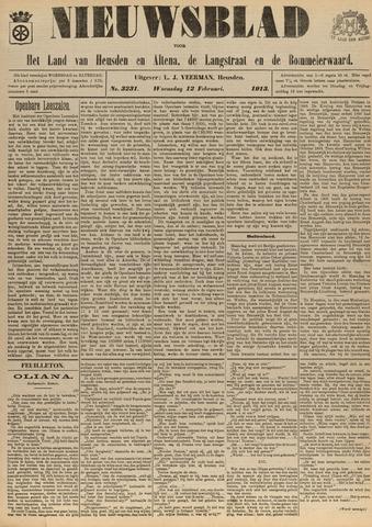 Nieuwsblad het land van Heusden en Altena de Langstraat en de Bommelerwaard 1913-02-12