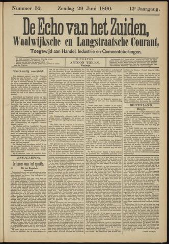 Echo van het Zuiden 1890-06-29