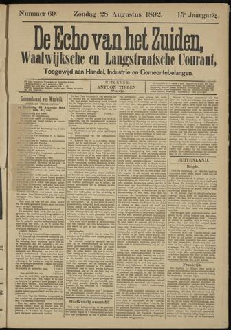 Echo van het Zuiden 1892-08-28