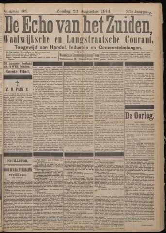 Echo van het Zuiden 1914-08-23