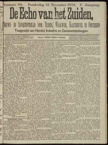Echo van het Zuiden 1878-11-21