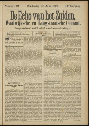 Echo van het Zuiden 1891-06-18