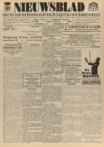 Nieuwsblad het land van Heusden en Altena de Langstraat en de Bommelerwaard 1929-02-08