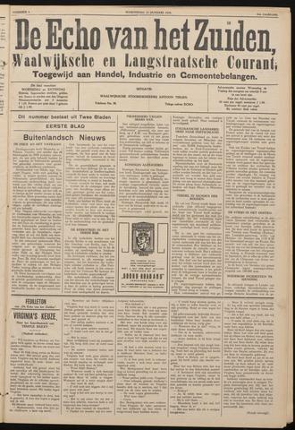 Echo van het Zuiden 1938-01-12