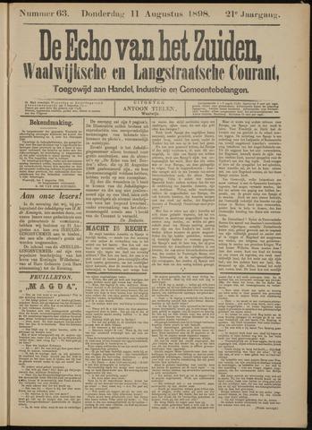 Echo van het Zuiden 1898-08-11