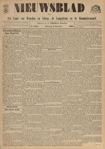 Nieuwsblad het land van Heusden en Altena de Langstraat en de Bommelerwaard 1905-12-02