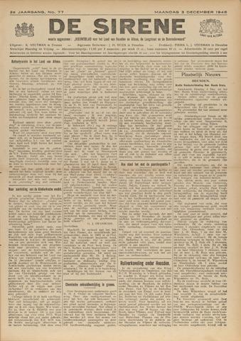 De Sirene 1945-12-03