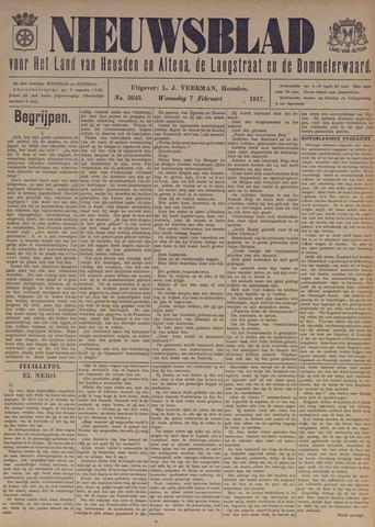 Nieuwsblad het land van Heusden en Altena de Langstraat en de Bommelerwaard 1917-02-07