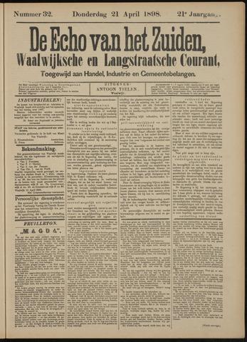 Echo van het Zuiden 1898-04-21