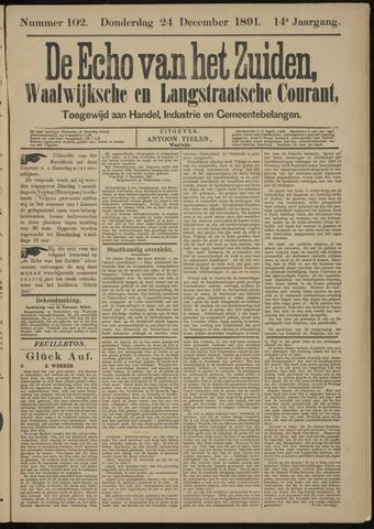 Echo van het Zuiden 1891-12-24