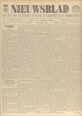 Nieuwsblad het land van Heusden en Altena de Langstraat en de Bommelerwaard 1918-04-03