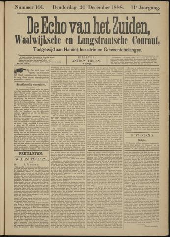 Echo van het Zuiden 1888-12-20
