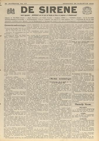 De Sirene 1946-08-26