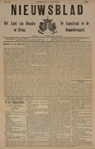 Nieuwsblad het land van Heusden en Altena de Langstraat en de Bommelerwaard 1888-08-15