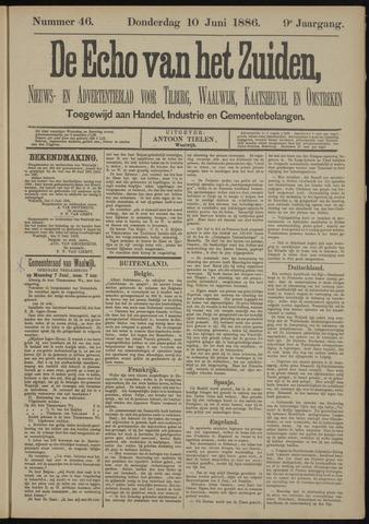 Echo van het Zuiden 1886-06-10