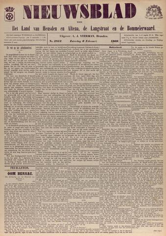Nieuwsblad het land van Heusden en Altena de Langstraat en de Bommelerwaard 1909-02-06