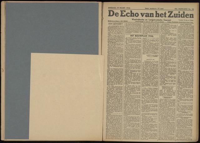 Echo van het Zuiden 1946-03-19