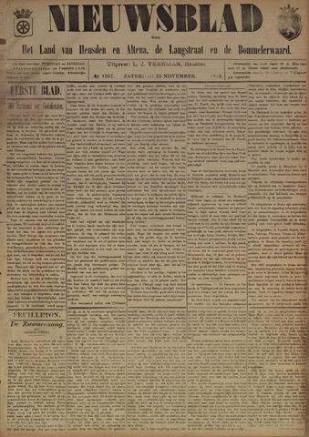 Nieuwsblad het land van Heusden en Altena de Langstraat en de Bommelerwaard 1893-11-25