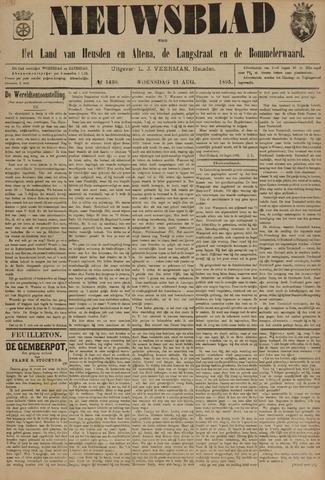 Nieuwsblad het land van Heusden en Altena de Langstraat en de Bommelerwaard 1895-08-21