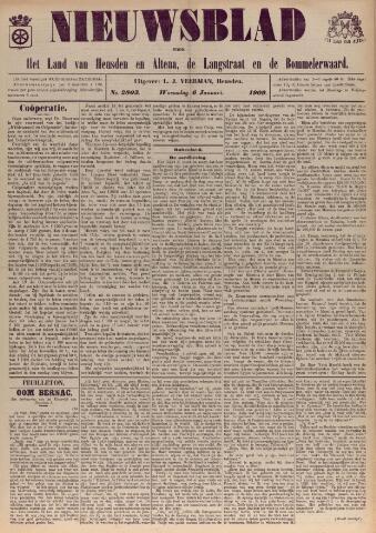 Nieuwsblad het land van Heusden en Altena de Langstraat en de Bommelerwaard 1909-01-06
