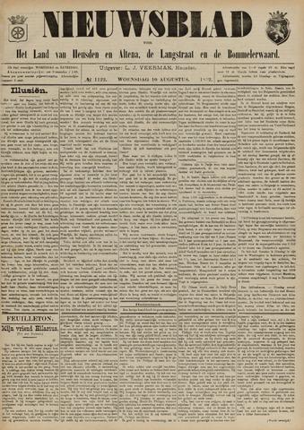 Nieuwsblad het land van Heusden en Altena de Langstraat en de Bommelerwaard 1892-08-10