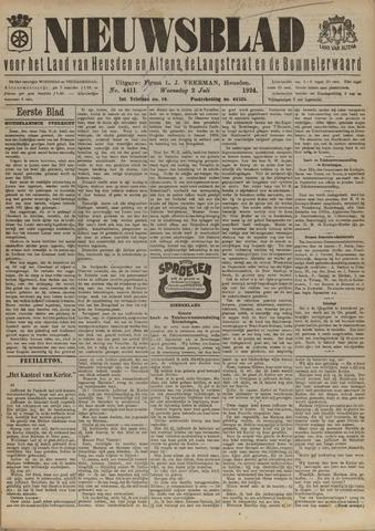 Nieuwsblad het land van Heusden en Altena de Langstraat en de Bommelerwaard 1924-07-02