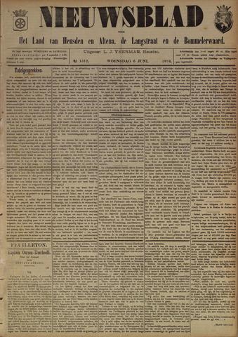 Nieuwsblad het land van Heusden en Altena de Langstraat en de Bommelerwaard 1894-06-06