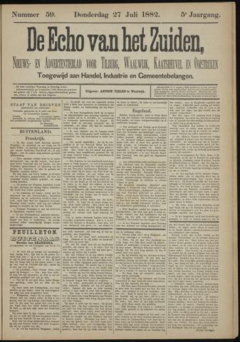 Echo van het Zuiden 1882-07-27