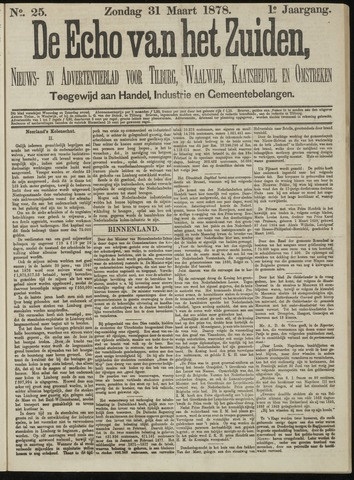 Echo van het Zuiden 1878-03-31