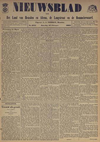 Nieuwsblad het land van Heusden en Altena de Langstraat en de Bommelerwaard 1908-02-15