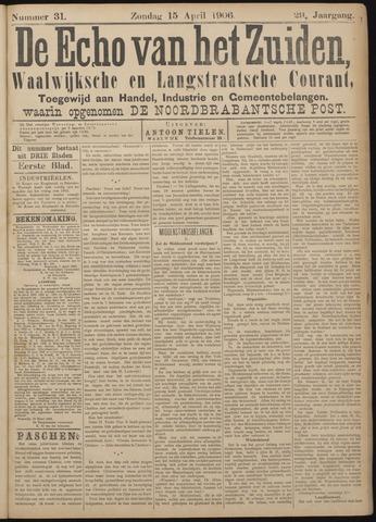 Echo van het Zuiden 1906-04-15