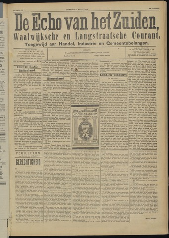 Echo van het Zuiden 1924-03-15