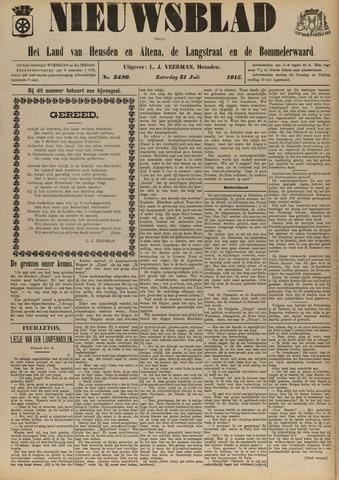 Nieuwsblad het land van Heusden en Altena de Langstraat en de Bommelerwaard 1915-07-31