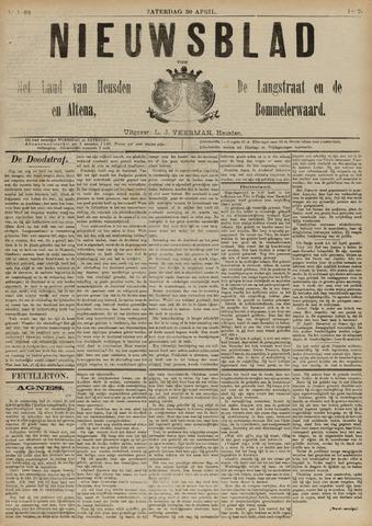Nieuwsblad het land van Heusden en Altena de Langstraat en de Bommelerwaard 1892-04-30