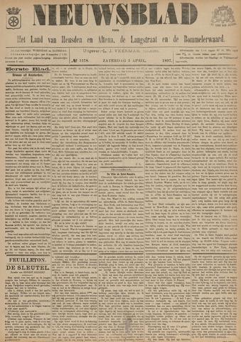 Nieuwsblad het land van Heusden en Altena de Langstraat en de Bommelerwaard 1897-04-03