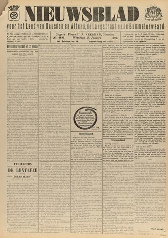 Nieuwsblad het land van Heusden en Altena de Langstraat en de Bommelerwaard 1929-01-16