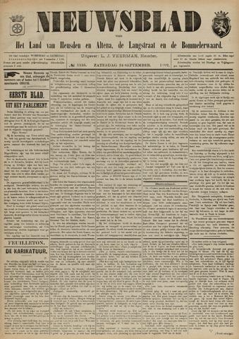 Nieuwsblad het land van Heusden en Altena de Langstraat en de Bommelerwaard 1892-09-24