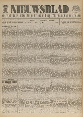 Nieuwsblad het land van Heusden en Altena de Langstraat en de Bommelerwaard 1919-06-11