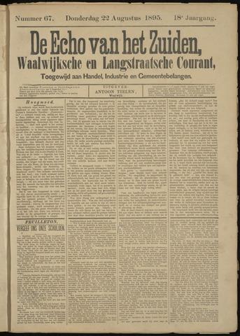 Echo van het Zuiden 1895-08-22