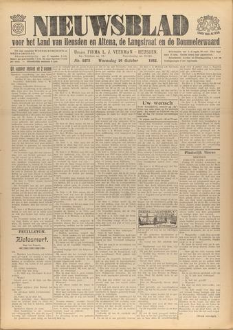 Nieuwsblad het land van Heusden en Altena de Langstraat en de Bommelerwaard 1932-10-26