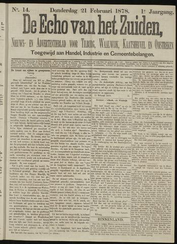 Echo van het Zuiden 1878-02-21
